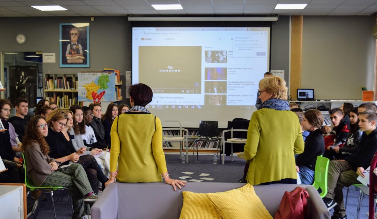 Journée de l'amitié franco-allemande : les élèves germanistes du LFHED rencontrent leurs partenaires de la Deutsche Schule Athen-1
