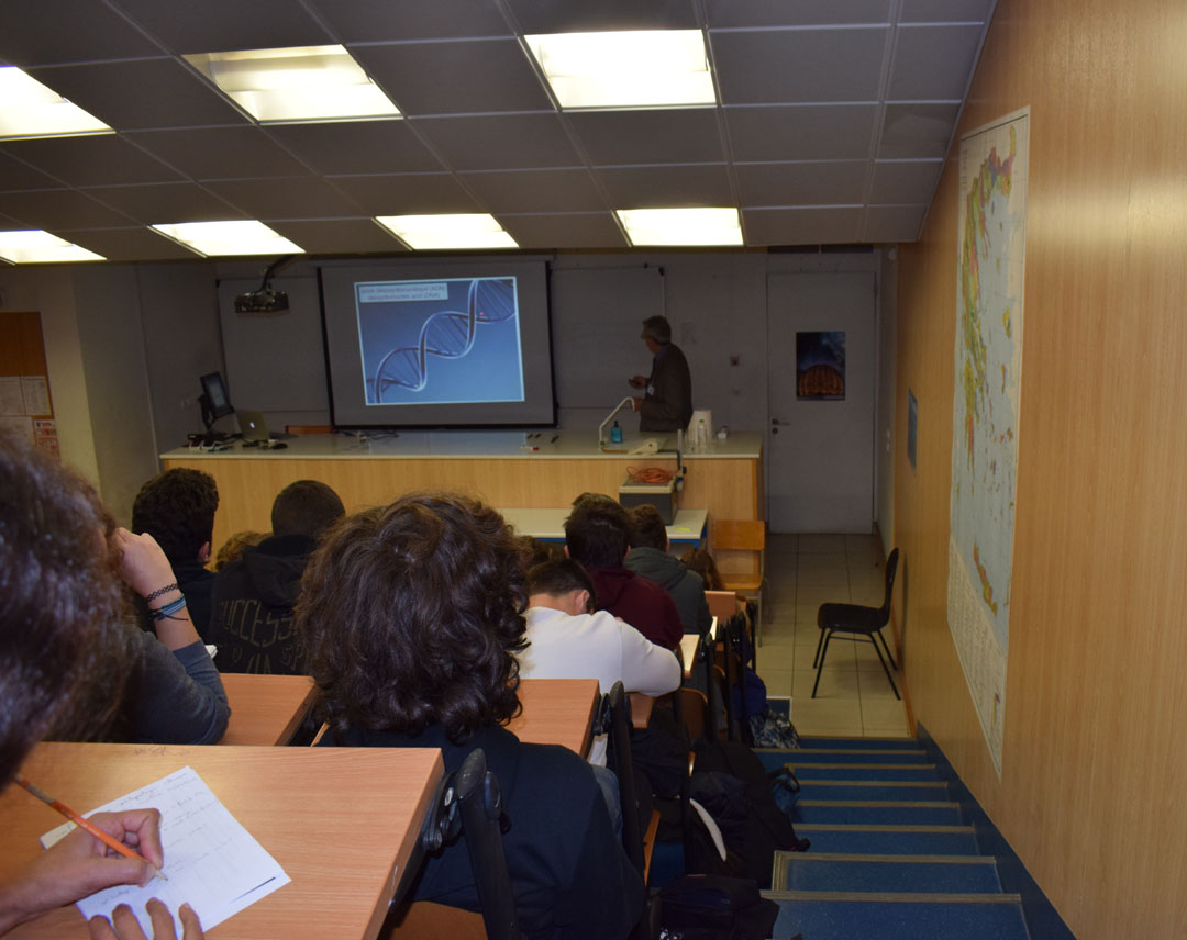Conférences de M. Jean-Pierre SAUVAGE, prix Nobel de chimie 2016, au LFHED-1