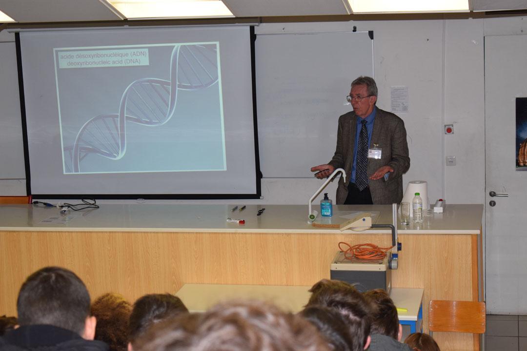 Conférences de M. Jean-Pierre SAUVAGE, prix Nobel de chimie 2016, au LFHED-2