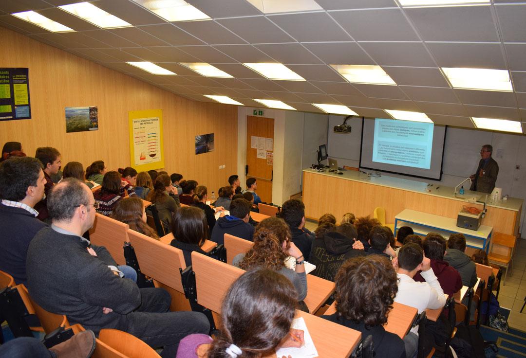 Conférences de M. Jean-Pierre SAUVAGE, prix Nobel de chimie 2016, au LFHED-3