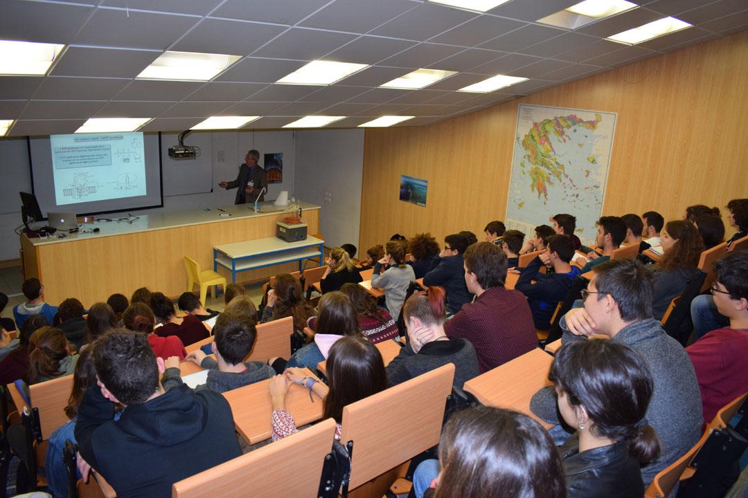 Conférences de M. Jean-Pierre SAUVAGE, prix Nobel de chimie 2016, au LFHED-5