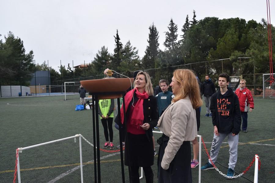 La 2ème session des Olympiades a réuni les 5e, 4e, B' et Γ'-40