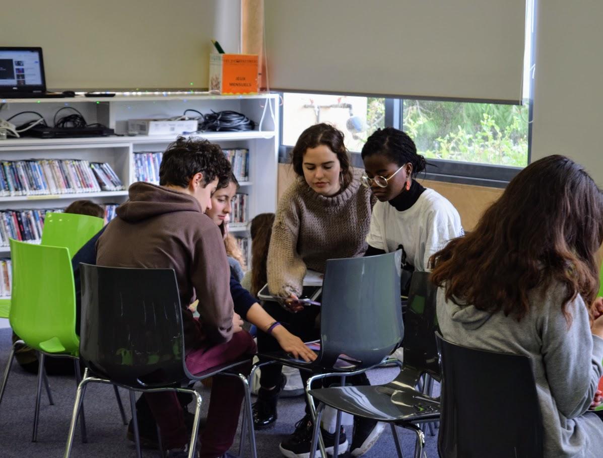 Journée de l'amitié franco-allemande : les élèves germanistes du LFHED rencontrent leurs partenaires de la Deutsche Schule Athen-7