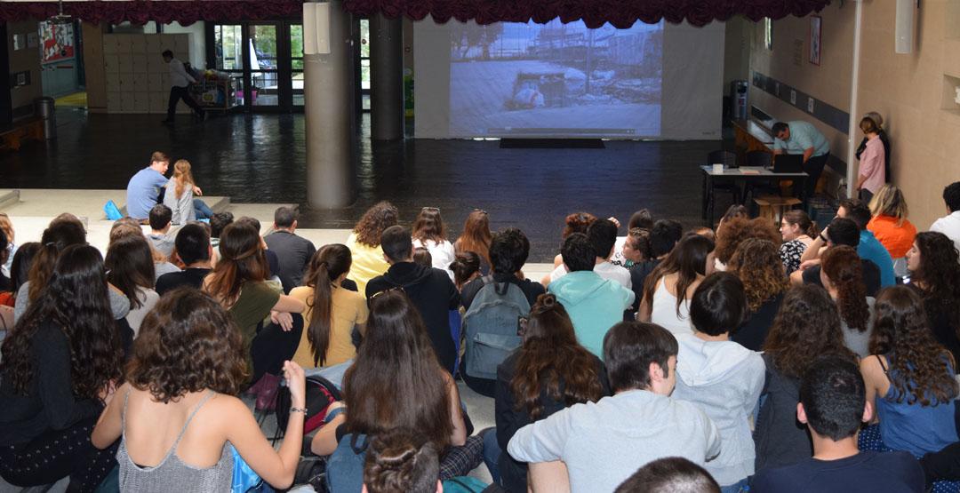 Les élèves de FLE de la Section Hellénique remportent le prix de l'engagement citoyen au Concours national de la Francophonie 2018 -2