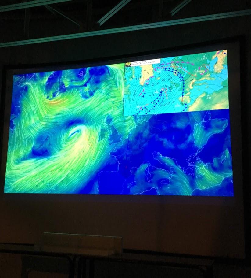 Les élèves du club de météorologie en visite à l'Observatoire astronomique de Penteli-5