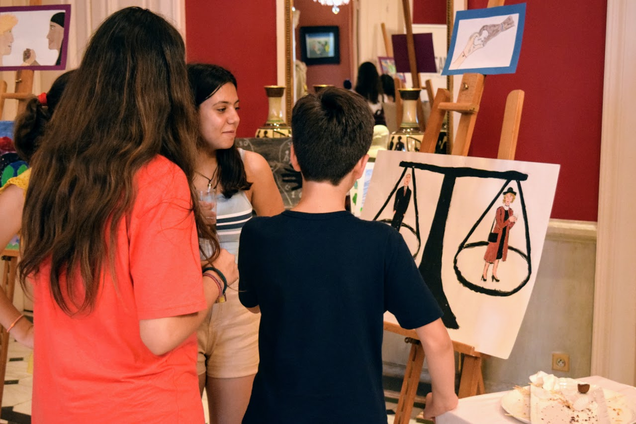 Nos élèves participent au concours de dessin lancé par l'Ambassade sur le thème de l'égalité-8