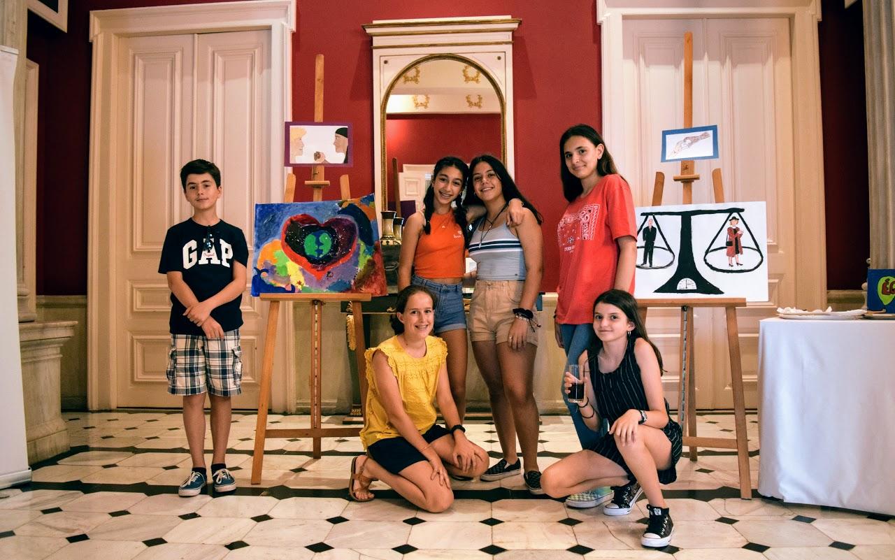 Nos élèves participent au concours de dessin lancé par l'Ambassade sur le thème de l'égalité-9