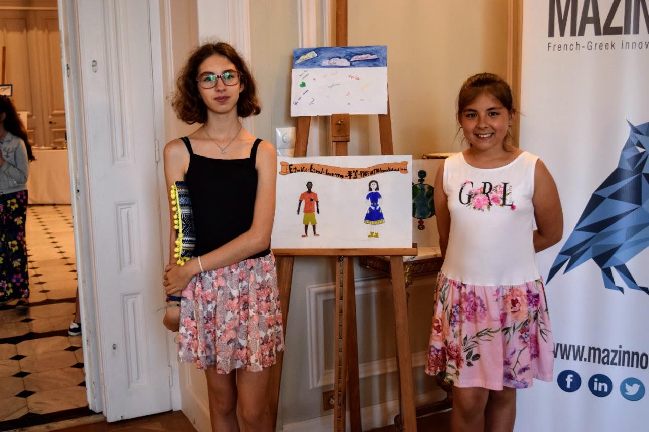 Nos élèves participent au concours de dessin lancé par l'Ambassade sur le thème de l'égalité-13
