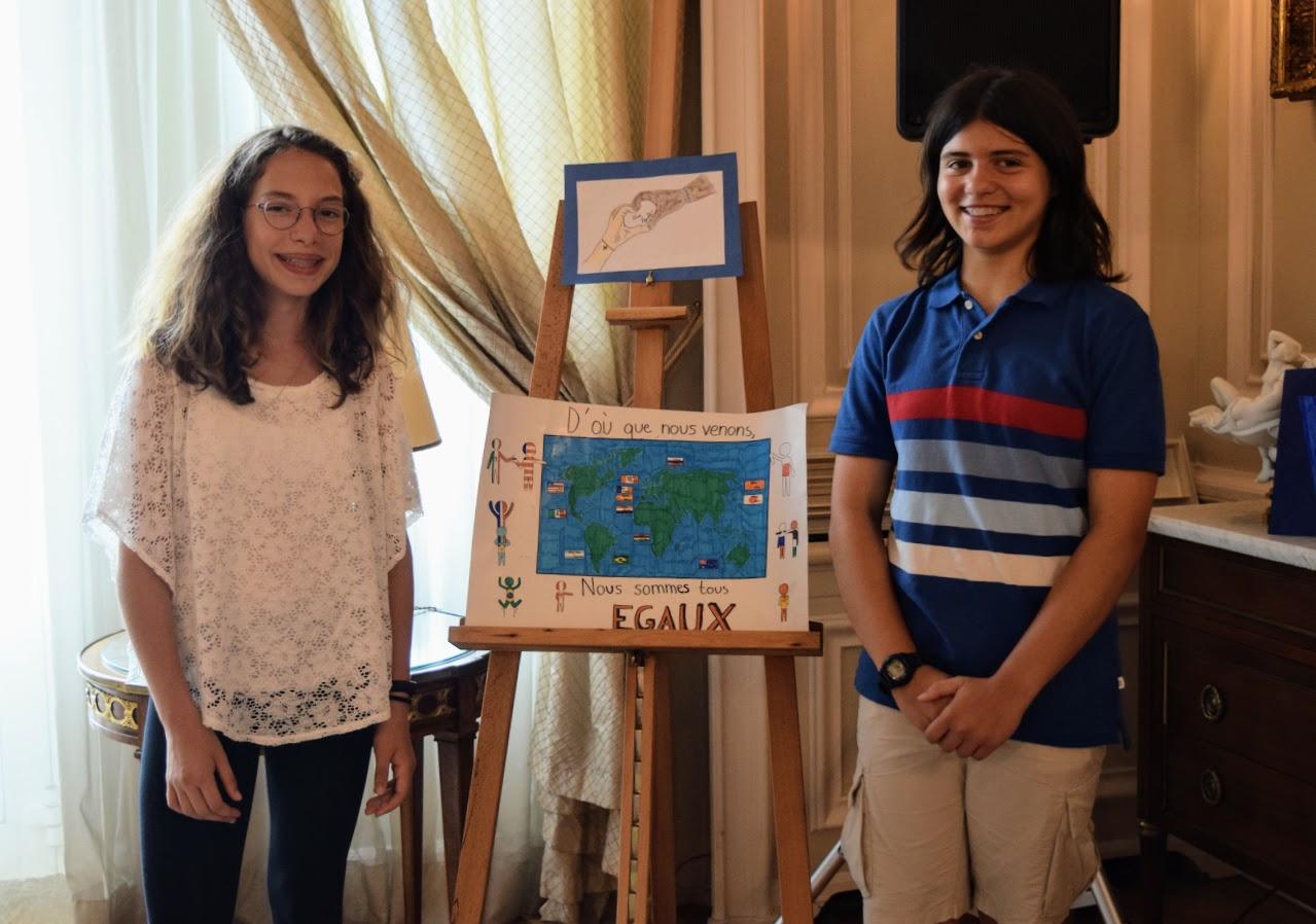Nos élèves participent au concours de dessin lancé par l'Ambassade sur le thème de l'égalité-14