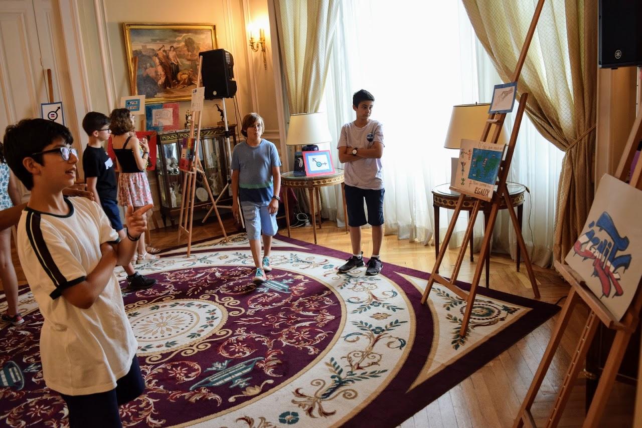 Nos élèves participent au concours de dessin lancé par l'Ambassade sur le thème de l'égalité-18