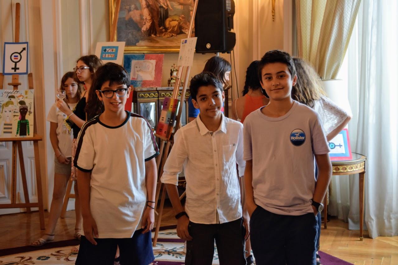 Nos élèves participent au concours de dessin lancé par l'Ambassade sur le thème de l'égalité-19