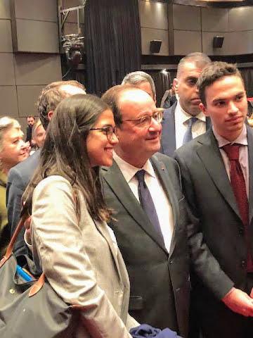 Intervention de François Hollande sur l'Europe à l'IFG : les Terminales posent leurs questions-12