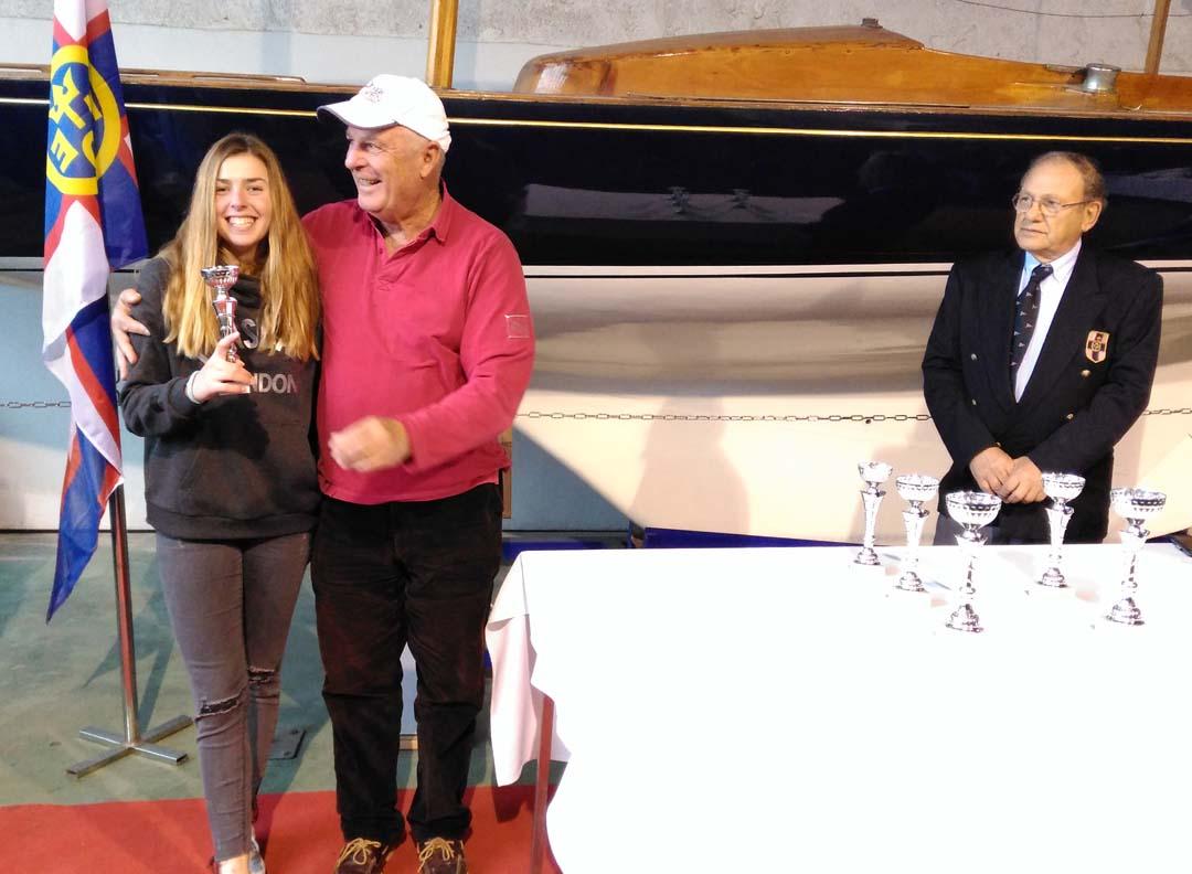 Catherine Drakopoulou remporte la 3ème place au championnat régional de voile - Laser 4.7 Youth-0