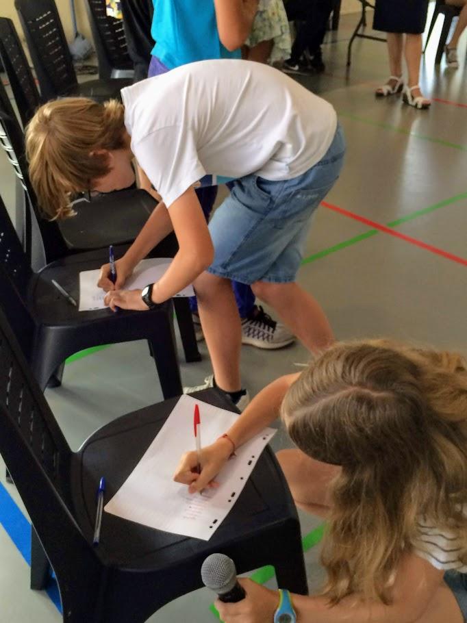 Un concours d'orthographe au LFHED !-6