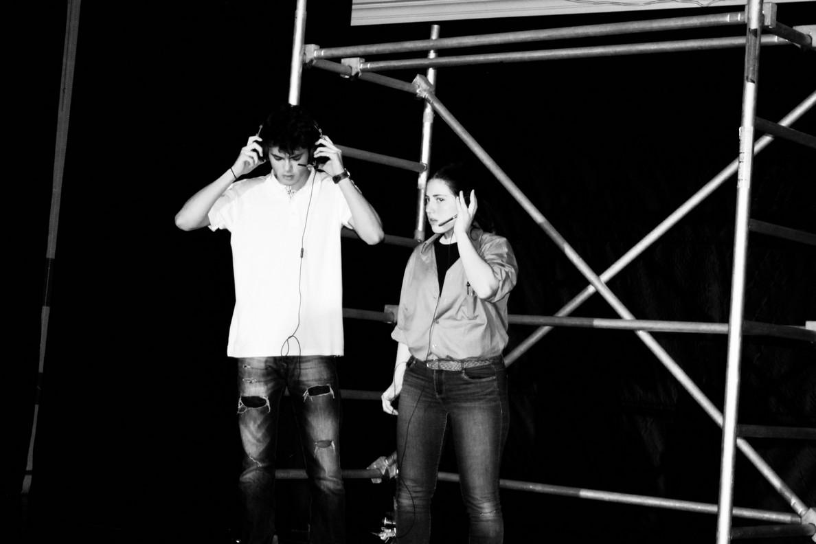 Spectacle des 1ères option théâtre -3