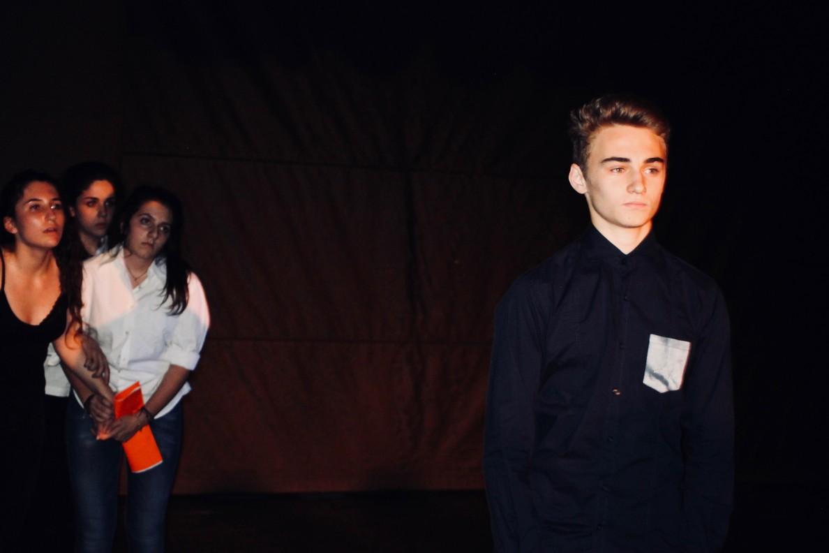 Spectacle des 1ères option théâtre -20