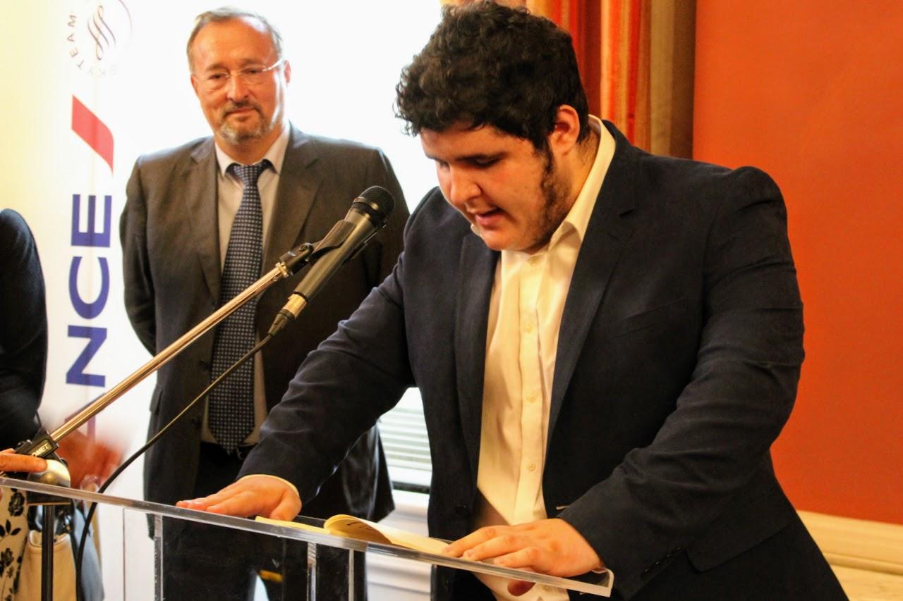 Nos élèves de Terminale des sections française et grecque félicités par M. L'Ambassadeur de France en Grèce-6