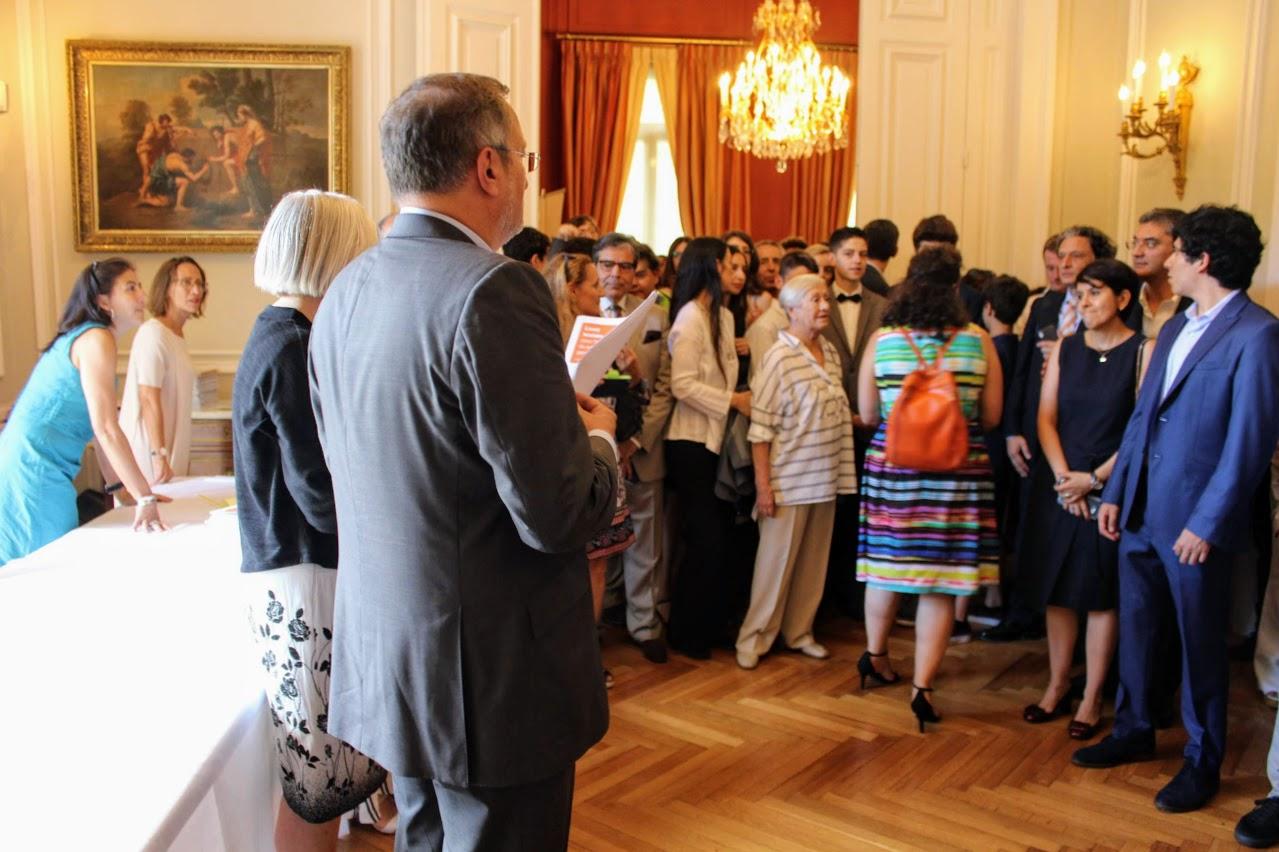Nos élèves de Terminale des sections française et grecque félicités par M. L'Ambassadeur de France en Grèce-8
