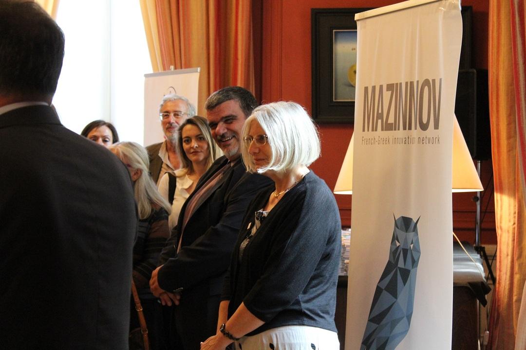 Nos élèves de Terminale des sections française et grecque félicités par M. L'Ambassadeur de France en Grèce-11