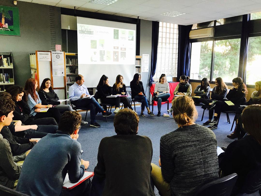 Délibérations Locales du Goncourt des Lycéens au LFHED-3