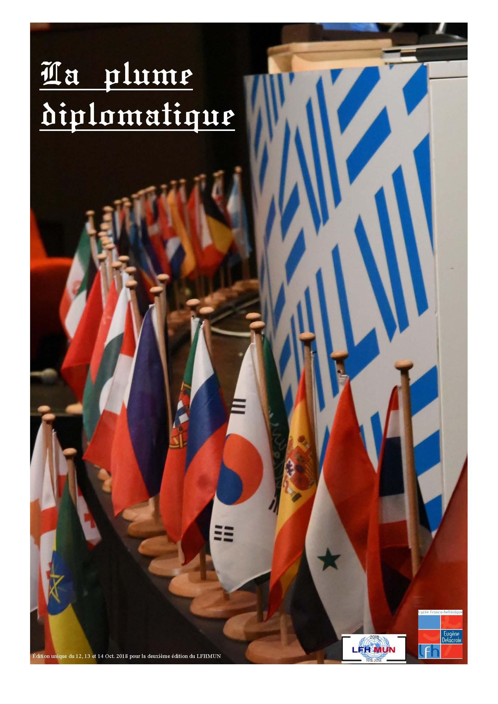 Découvrez le journal du projet bilingue LFH MUN !