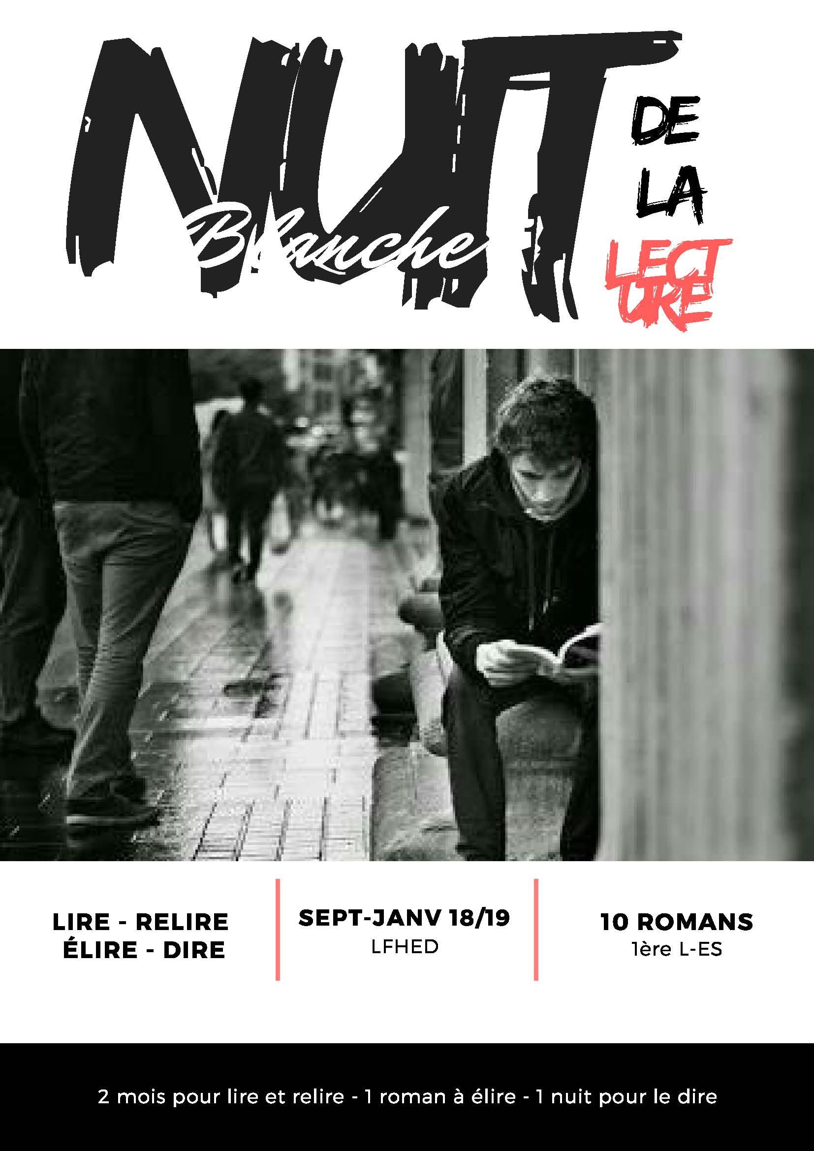 """Lancement du projet """"Nuit Blanche de la Lecture"""""""