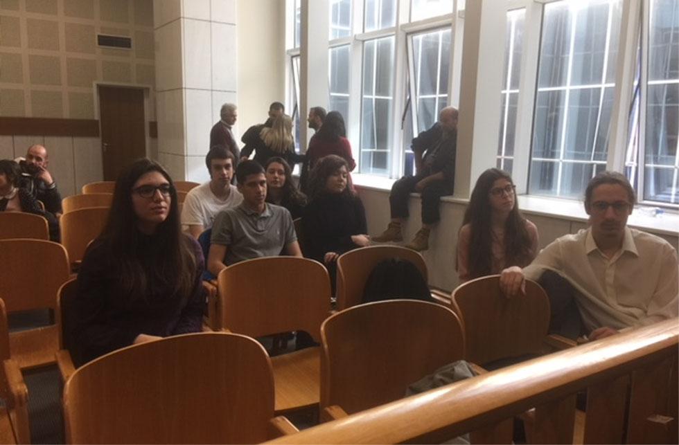 Les élèves de 1ère de la Section Hellénique en visite à la Cour d'appel d'Athènes-0