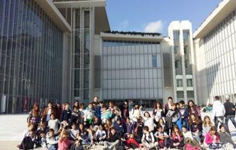 Visite et activités pédagogiques au Centre culturel Fondation Stavros Niarchos des classes de 6e1 et 6e2-0