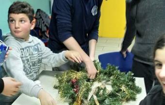 Nos élèves de collège de la Section Hellénique ouvrent leurs bras aux enfants du centre de jour Ανοικτή Αγκαλιά-4