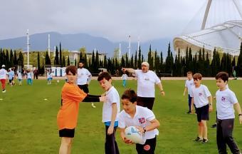 """Notre équipe des """"Hyènes et Lynx d'Athènes"""" participe au 1er Trophée FrancOvalie-2"""