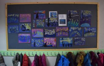 Les classes de CP du LFHED à l'étude du peintre Van Gogh-2