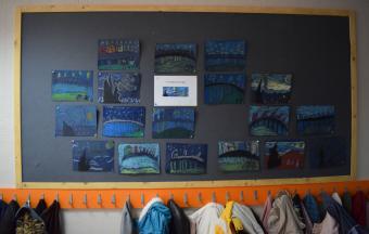 Les classes de CP du LFHED à l'étude du peintre Van Gogh-5