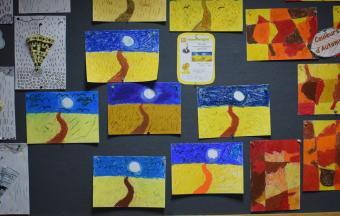 Les classes de CP du LFHED à l'étude du peintre Van Gogh-0