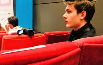 Nos élèves de 1ère des sections française et hellénique couvrent la XXe édition du Festival du Film Francophone-9