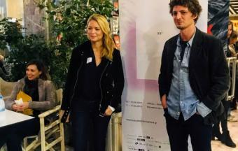 Nos élèves de 1ère des sections française et hellénique couvrent la XXe édition du Festival du Film Francophone-18