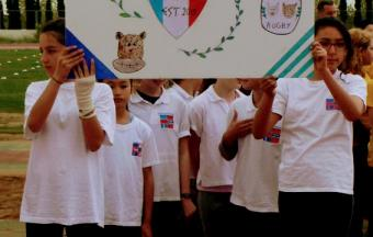 """Notre équipe des """"Hyènes et Lynx d'Athènes"""" participe au 1er Trophée FrancOvalie-5"""