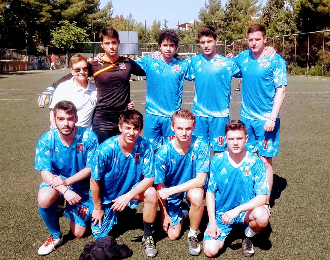 Tournoi de foot au LFHED à l'occasion de la fête de l'Europe