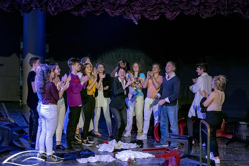 Les élèves de 1ère option théâtre présentent le spectacle « ANIMUS ANIMA »-15